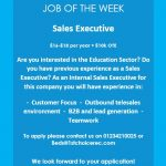 JOB OF THE WEEK – Bedford Branch
