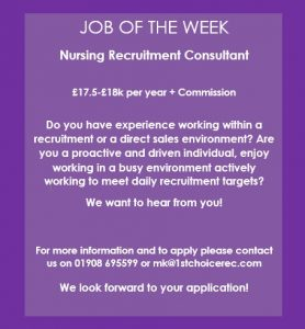 JOB OF THE WEEK – Milton Keynes Branch