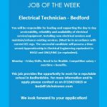 JOB OF THE WEEK – Bedford
