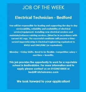 JOB OF THE WEEK – Bedford